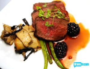 hosea-venison-loin-with-chestnut-and-celery-root-puree-wild-mushrooms-and-blackberry-demi