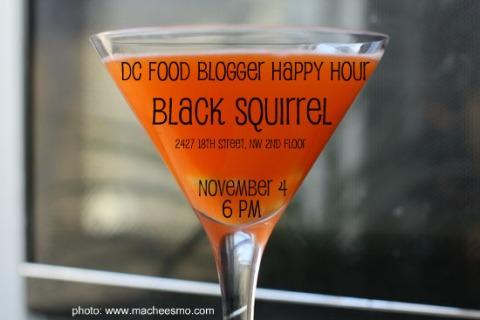 Nov food blogger happy hour
